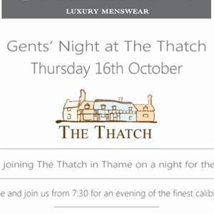 Gallant is 'popping up' in The Thatch